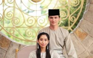 Inilah Foto Rasmi Pasangan Tunku Tun Aminah dan Dennis
