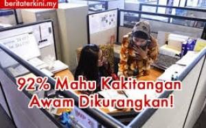 Mitos Atau Fakta, Jumlah Penjawat Awam Malaysia Terlalu Ramai?