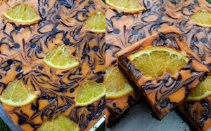 Resepi Brownie Orange