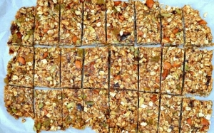 Resepi Nuts Bar atau Granola Bar Homemade