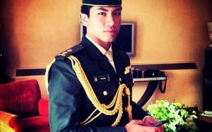 Persona Putera Abdul Mateen, anak kepada Sultan Hassanal Bolkiah