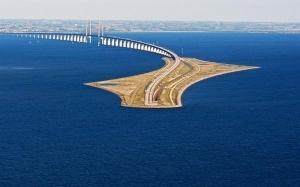The Øresund : Jambatan-Terowong Dalam Laut Menyambungkan Denmark Dan Sweden